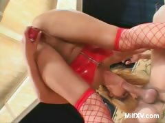 Blonde MILF Brooke Does Anal