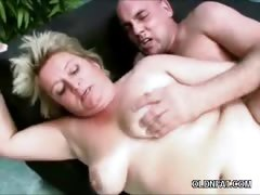 Chubby Mature Blonde Fucked