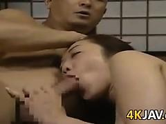 Japanese Slut Fucked Doggystyle
