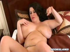Natalie Fiore & Her Heavy Hanging Hooters